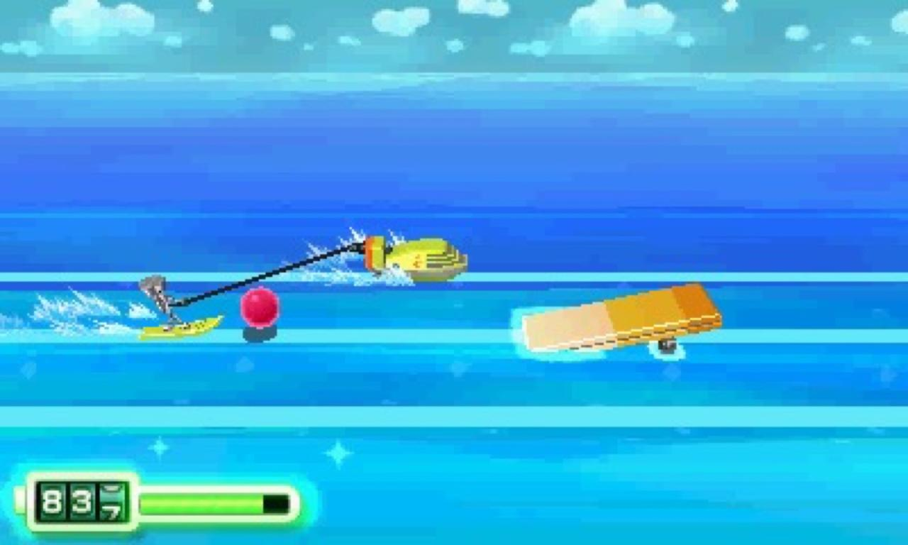 Chibi-Robo would have benefited from more fast-paced moments like the skateboarding and jet-skiing sections.