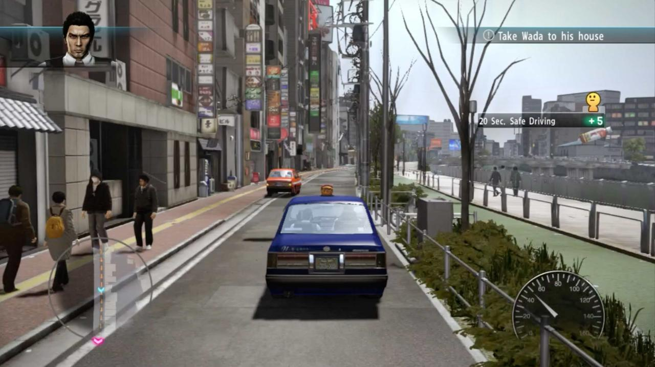 Yakuza 5 is the closest thing we'll get to a proper Taxi Driver video game.