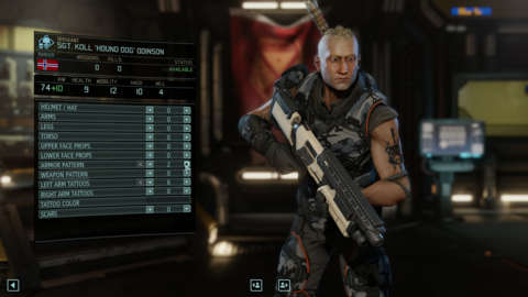 Character customization lets you control everything from your soldiers' loadouts to their nationality.