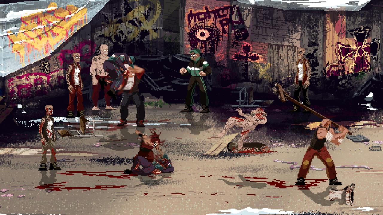 Mother Russia Bleeds explores hyper-violent themes, sometimes to its detriment.