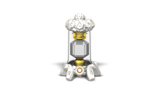 One of the new Skylander Creation Crystals.