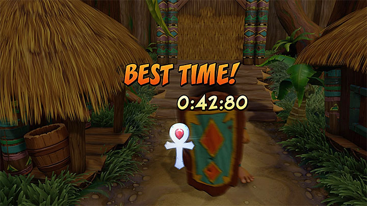 After completing each time trial you will receive one of three possible relics - a sapphire one (the worst one), a golden and a platinum one (above picture) - Practice Makes Pefect! | Crash Bandicoot Trophy Guide - Crash Bandicoot - Crash Bandicoot N. Sane Trilogy Game Guide
