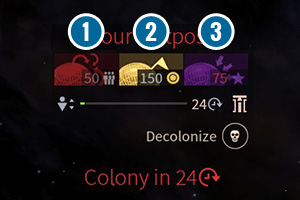 However, you can help your colony - Colonization, migration and evacuation in Endless Space 2 - Gameplay basics - Endless Space 2 Game Guide