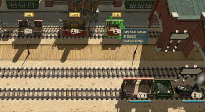 The guards carriage - Your crew and development | Hints - Hints - Bounty Train Game Guide