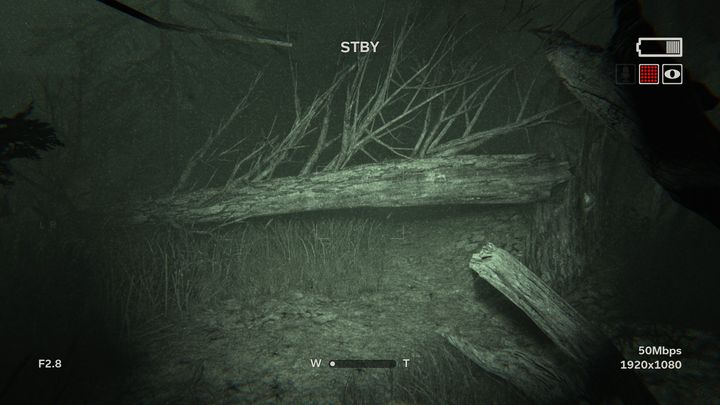 After a while Blake will fall from the raft - The Lake | Lamentations | Walkthrough - Lamentations - Outlast 2 Game Guide