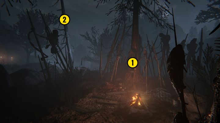 Go up until you reach the place presented above - The Lake | Lamentations | Walkthrough - Lamentations - Outlast 2 Game Guide