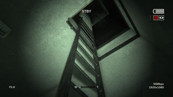 At the end of the hallway on the left you can find an opened room - Raining Blood | Lamentations | Walkthrough - Lamentations - Outlast 2 Game Guide