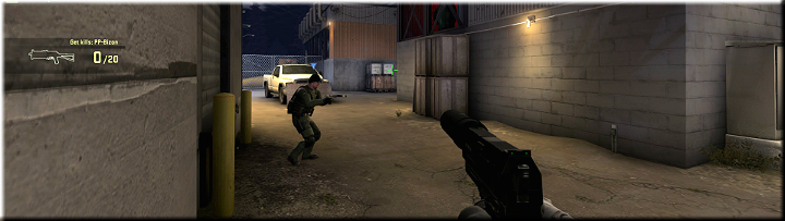 The screenshot above shows a pathway that can be used by your opponents - Mission 6 Lite: The Phillipe Gambit - Missions - Counter-Strike: Global Offensive Game Guide