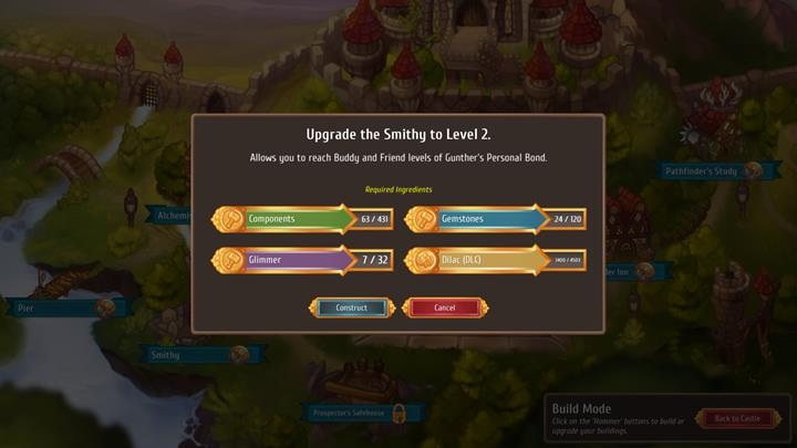 In order to be able to construct a new building or upgrade an existing one, some raw materials are needed. - City and building mechanics - City Management - Regalia: Of Man and Monarchs Game Guide