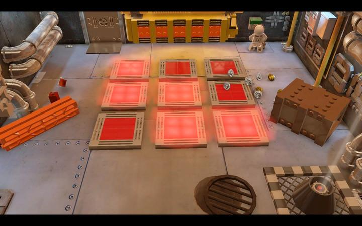 First, press the terminal button and this will make a sequence appear - The hangar | Walkthrough - Chapter 7 - LEGO City: Undercover Game Guide