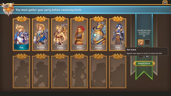 Upgrading the Town Square to the 2nd level allows taking six companions. - General advice - Gameplay Basics - Regalia: Of Man and Monarchs Game Guide
