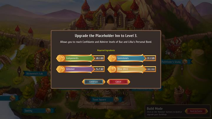 Raising new buildings is necessary to improve relations with the public. - General advice - Gameplay Basics - Regalia: Of Man and Monarchs Game Guide