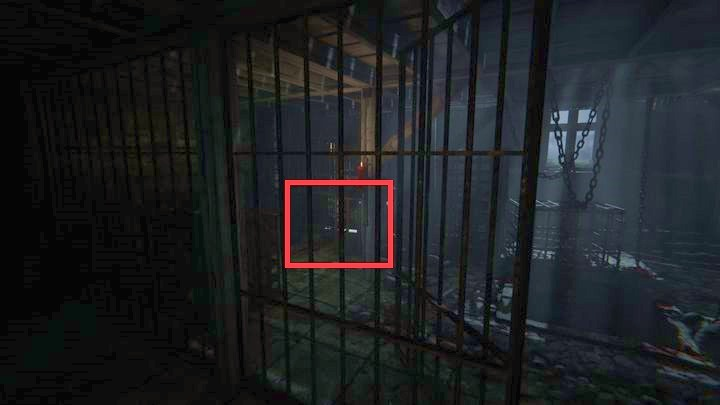 Having picked it up, go to the door on the left - The Compound | Genesis | Walkthrough - Genesis - Outlast 2 Game Guide