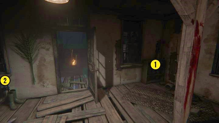 Once youve awoken, wait until the danger passes and exit the building - The Fields | Genesis | Walkthrough - Genesis - Outlast 2 Game Guide
