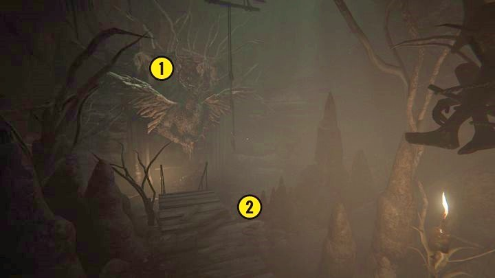 You will enter the location from the picture above - Heretic Cave | Genesis | Walkthrough - Genesis - Outlast 2 Game Guide