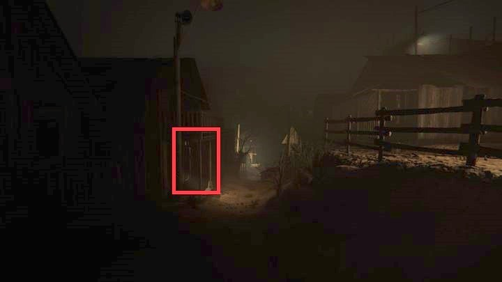 Youll see a praying woman on your way - Temple Gate Town Square | Genesis | Walkthrough - Genesis - Outlast 2 Game Guide