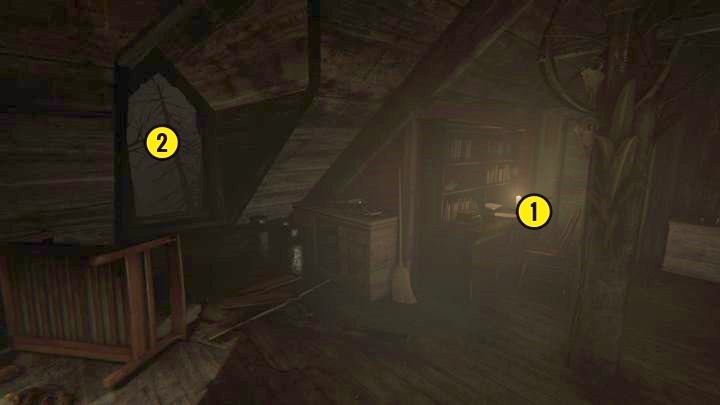 In the attic, you will find another note (Lesson Plan #40) - The Chapel | Genesis | Walkthrough - Genesis - Outlast 2 Game Guide