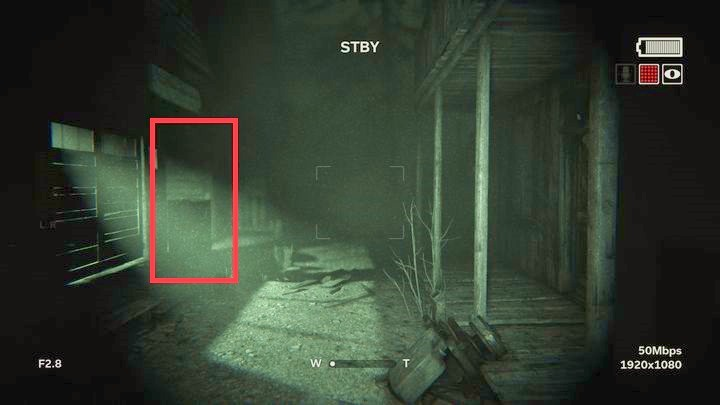 You will find another building with lights on on the left - The Chapel | Genesis | Walkthrough - Genesis - Outlast 2 Game Guide