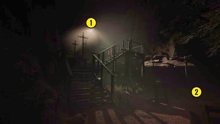 Go straight on and turn right to the path - The Road to the Mine | Genesis | Walkthrough - Genesis - Outlast 2 Game Guide
