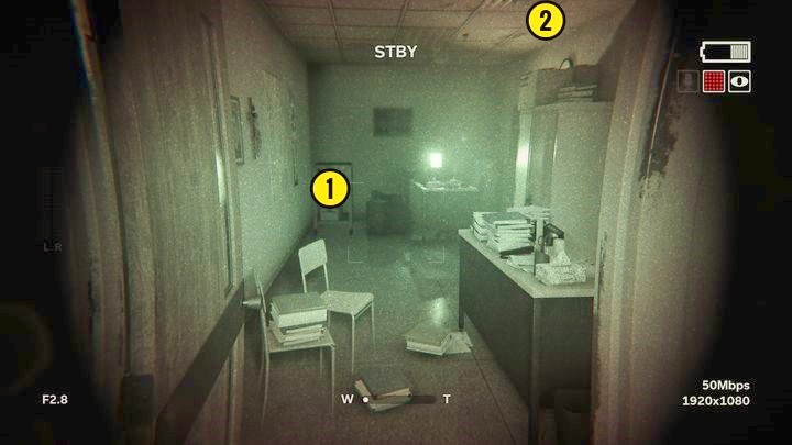 The picture will collapse and you will be taken to the emergency exit - Inner Demon | Genesis | Walkthrough - Genesis - Outlast 2 Game Guide