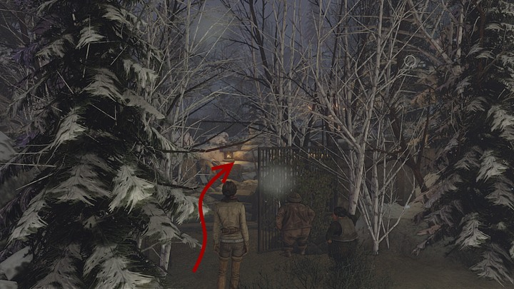 Instead, take the path opposite of it, among the trees, up the hill - Find the clues left by the previous caravan - Chapter seven - Syberia 3 Game Guide