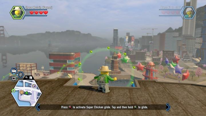 Remember to hold down the ejump key for the whole time - Hospital | Walkthrough - Chapter 10 - LEGO City: Undercover Game Guide