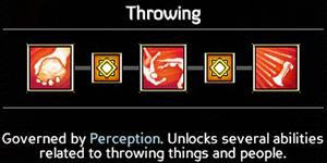 Throwing (6/9/12/15/18) - Offensive Abilities - Abilities - Expeditions: Viking Game Guide
