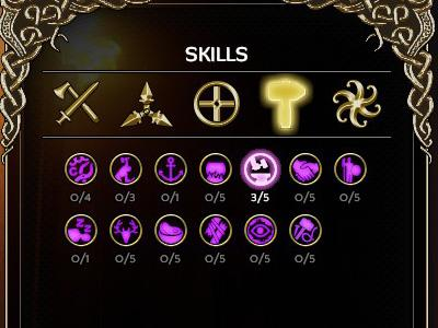 The majority of utility skills affect works at camps - Utility and passive abilities | Expeditions: Viking - Abilities - Expeditions: Viking Game Guide
