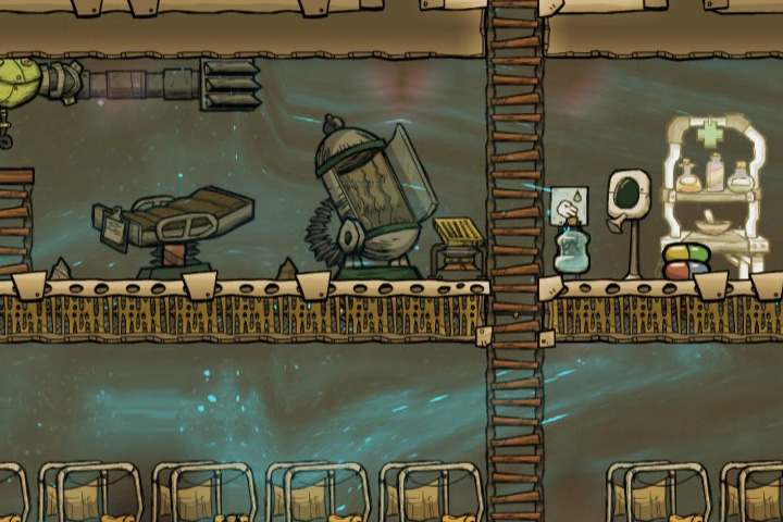 In accordance to the name, here you will find everything that affects the health of your duplicates - Medicine - Description of objects and structures - Oxygen Not Included Game Guide