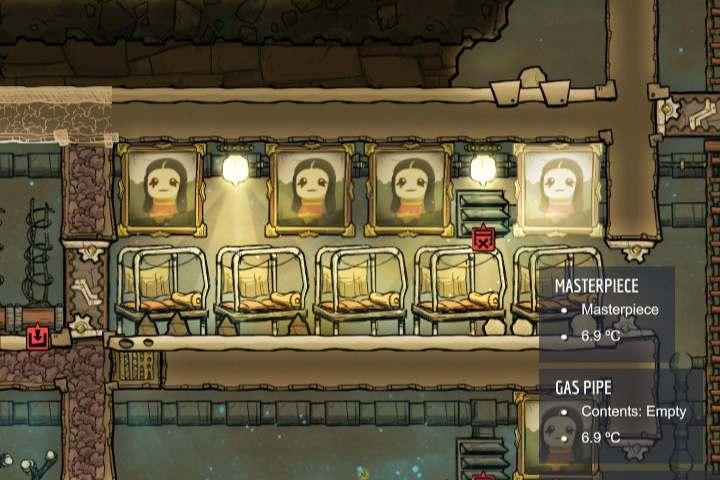 It would seem that the decor in many games is purely an aesthetic part of the game, meant to please the eye - Decor - Description of objects and structures - Oxygen Not Included Game Guide