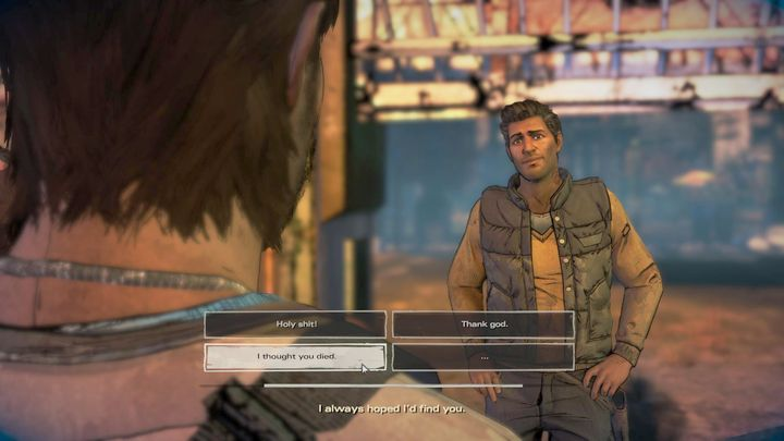 The chapter will start with the cliffhanger from episode two - meeting your brother, David - Chapter 2 - Building for Tomorrow | Episode 3 - Episode 3: Above the Law - The Walking Dead: The Telltale Series - A New Frontier Game Guide