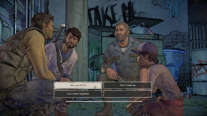 Chapter is all about confronting Joan - Chapter 6 - Close to the Edge | Episode 3 - Episode 3: Above the Law - The Walking Dead: The Telltale Series - A New Frontier Game Guide