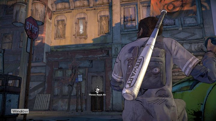 Sneak pass guards patrolling the streets - Chapter 6 - Close to the Edge   Episode 3 - Episode 3: Above the Law - The Walking Dead: The Telltale Series - A New Frontier Game Guide