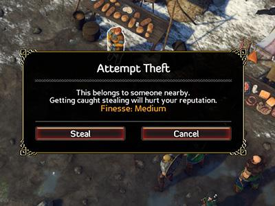 You can affect conversations with high Perception and Sense - General hints - The Basics - Expeditions: Viking Game Guide