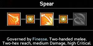 Spear(6/9/12/15/18) - Wielding weapons - Abilities - Expeditions: Viking Game Guide