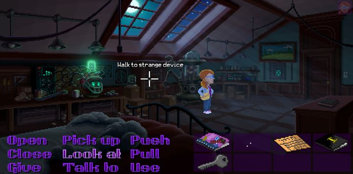 Go to Chucks office and examine it thoroughly. - Part 3 - The Arrest | Walkthrough - Walkthrough - Thimbleweed Park Game Guide