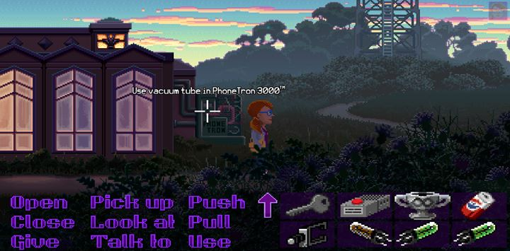 Restart the phone line of the radio station. - Part 4 - The Will / Part 5 - The Reading | Walkthrough - Walkthrough - Thimbleweed Park Game Guide