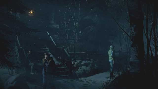 Go down, in the direction in front of the stairs - Episode 2 | Walkthrough - Walkthrough - Until Dawn Game Guide & Walkthrough