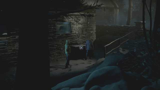 Move the green chest to enter the building - Episode 2 | Walkthrough - Walkthrough - Until Dawn Game Guide & Walkthrough