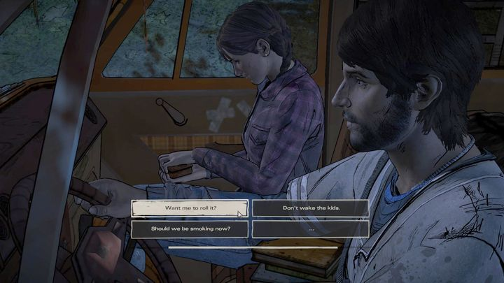 No thanks - Chapter 1 - Family Road Trip | Episode 1 - Episode 1: Ties that Bind - Part 1 - The Walking Dead: The Telltale Series - A New Frontier Game Guide