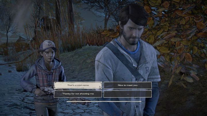 I surrender, okay - Chapter 3 - In Her Charge   Episode 1 - Episode 1: Ties that Bind - Part 1 - The Walking Dead: The Telltale Series - A New Frontier Game Guide