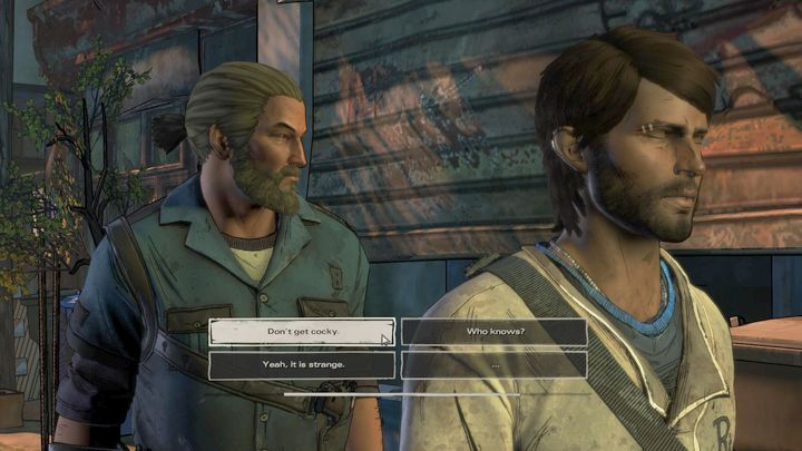 No matter your previous choice, you and the rest of your group will head for the town - Chapter 6 - In the City   Episode 2 - Episode 2: Ties that Bind - Part 2 - The Walking Dead: The Telltale Series - A New Frontier Game Guide