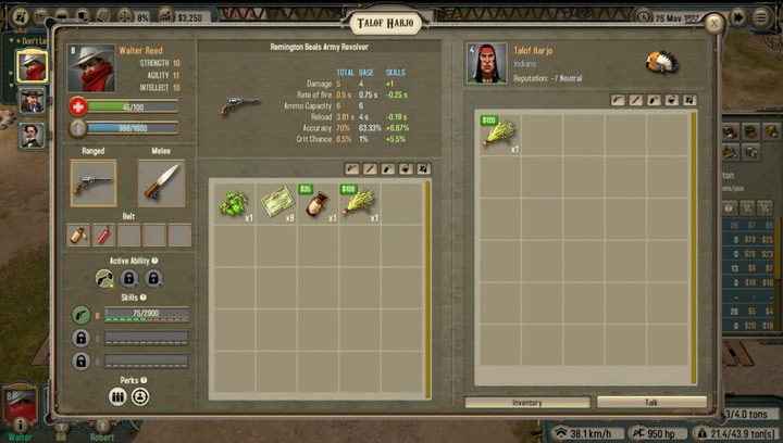 You can buy the other herb - sweet grass - from a woman (ab - Pearl Reed | Walkthrough - Walkthrough - Bounty Train Game Guide