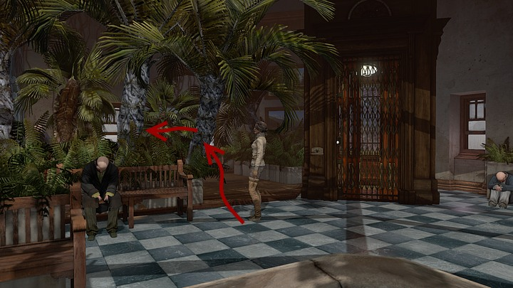 Proceed into the passageway and then left - you will arrive at an aviary with mechanical birds - Send the key to the Jukol by a courier | Chapter one | Walkthrough - Chapter one - Syberia 3 Game Guide