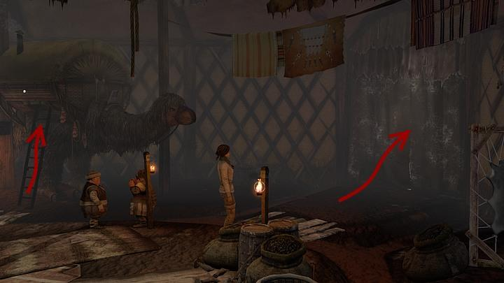 Return to the marketplace and make your way to one of the side exits - Find a way to get access to Valsembor | Chapter two | Walkthrough - Chapter two - Syberia 3 Game Guide