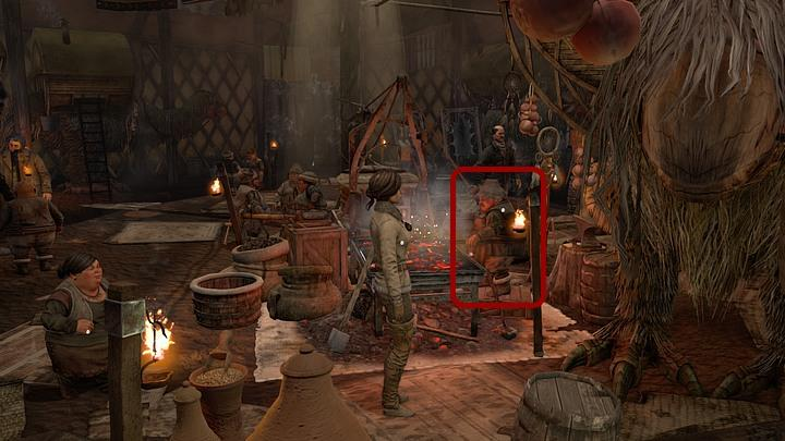 When you are inside you should go left and pet the third ostrich counting from the entrance (required for an achievement) - Find a way to get access to Valsembor | Chapter two | Walkthrough - Chapter two - Syberia 3 Game Guide