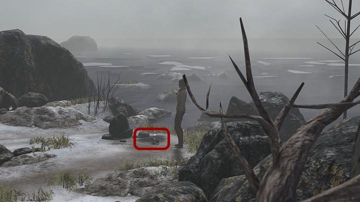 Leave the tent, but before you proceed to the checkpoint, turn right and follow the path to reach the coast - Find a way to get access to Valsembor | Chapter two | Walkthrough - Chapter two - Syberia 3 Game Guide