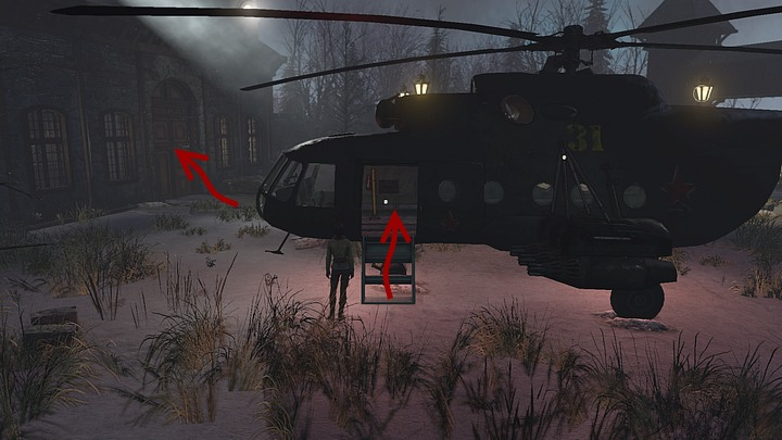 Circle around the chopper and get inside the machine - Find and free Kurk | Chapter three | Walkthrough - Chapter three - Syberia 3 Game Guide