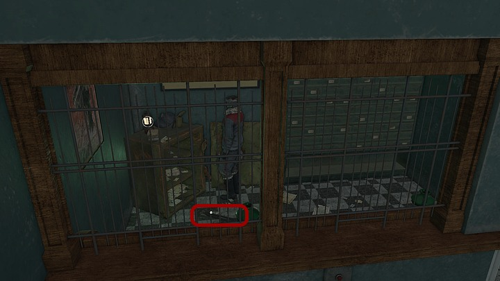 Proceed towards the passage on the right - you will get to a room with barred windows and an open safe (on the left) - Open the conduits | Chapter six | Walkthrough - Chapter six - Syberia 3 Game Guide