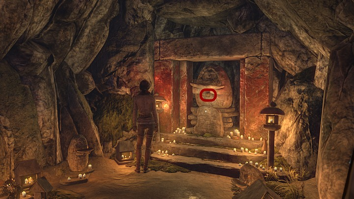 Leave the house of Khan Ti Kahs daughter and check the illuminated cave on the left - Find three Yukol lenses - Chapter seven - Syberia 3 Game Guide